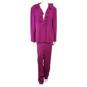 Bloomingdales 20W Elderberry Jacket & Pant Suit